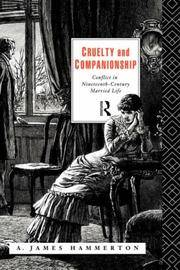 image of Cruelty and Companionship: Conflict in Nineteenth Century Married Life