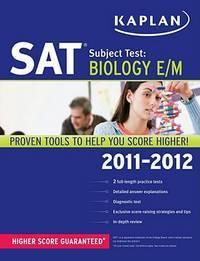 SAT Subject Test Biology E/M 2011-2012