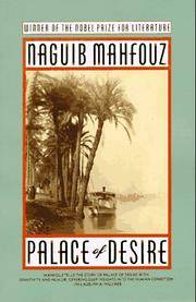 image of Palace of Desire: The Cairo Trilogy, Volume 2 (Cairo Trilogy II)