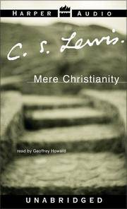 image of Mere Christianity: Read by Geoffrey Howard