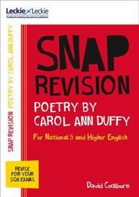 N5/Higher English: Poetry by Carol Ann Duffy