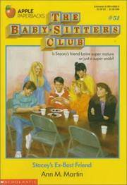 Stacey's Ex-Best Friend (Baby-Sitters Club, No. 51) by Ann Matthews Martin - Paperback - 1992-02 - from Ergodebooks and Biblio.com