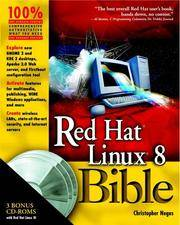 Red Hat Linux 8 Bible by  Christopher Negus - Paperback - 2002 - from preownedcdsdvdsgames and Biblio.co.uk