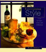 Entertaining in Style  A Year of Recipes, Menus & Celebrations