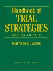 Handbook of Trial Strategies