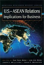 U.S.-Asean Relations