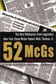 52 McGs The Best Obituaries from Legendary New York Times Writer Robert McG. Thomas, Jr