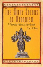 image of The Many Colors of Hinduism: A Thematic-Historical Introduction