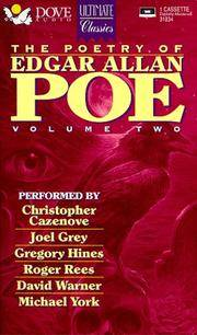 The Poetry of Edgar Allan Poe..Volume Two.Performed By Christopher Cazencove,Joel Grey,Gregory Hunes,Roger Rees,david Warner and Michael York