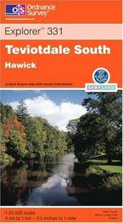Teviotdale South (Explorer Maps) by Ordnance Survey - Paperback - 2001-03-08 - from Ergodebooks and Biblio.com