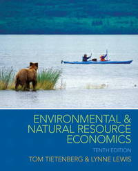 image of Environmental and Natural Resource Economics (The Pearson Series in Economics)