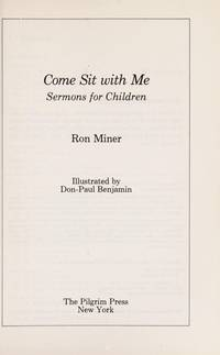 Come Sit With Me  Sermons for Children