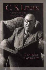 C. S. Lewis: Christian and Storyteller (Men of Spirit)