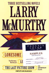 image of Larry McMurtry: Three Complete Novels (Lonesome Dove, Leaving Cheyenne, The Last Picture Show)
