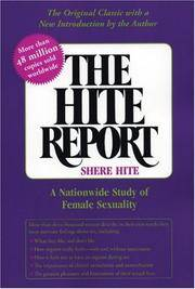 image of The Hite Report: A National Study of Female Sexuality