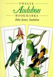 Twelve Audubon Bookmarks