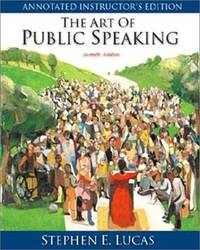 THE ART OF PUBLIC SPEAKING--SEVENTH EDITION