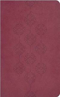 KJV, End-Of-Verse Reference Bible, Giant Print, Imitation Leather,  Burgundy, Red Letter Edition