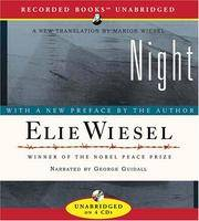 image of Night: New translation by Marion Wiesel
