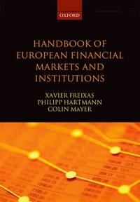 HANDBOOK OF EUROPEAN FINANCIAL MARKETS AND INSTITUTIONS