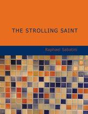 image of The Strolling Saint: Being the Confessions of the High_Mighty Agostin