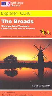 image of The Broads (OS Explorer Map Active)