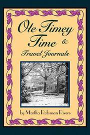 OLE Timey Time and Travel Journals