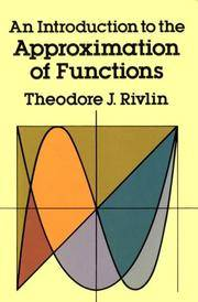 An Introduction to the Approximation of Functions.