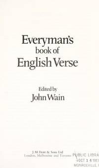 Everyman's Book of English Verse