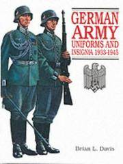 image of German Army Uniforms and Insignia 1933-1945