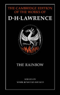 image of The Rainbow (The Cambridge Edition of the Works of D. H. Lawrence)
