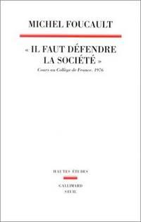 Il Faut Defendre La Societe (Hautes etudes) (French Edition)