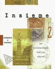 Insieme:  An Intermediate Italian Course (Student Edition)