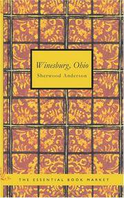 image of Winesburg Ohio: a group of tales of Ohio small town life