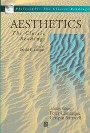 Aesthetics:  The Classic Readings