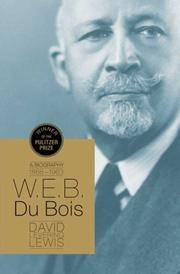 image of W.E.B. Du Bois: A Biography (John MacRae Books)