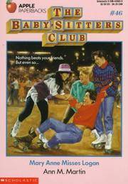 image of Mary Anne Misses Logan (Baby-sitters Club)