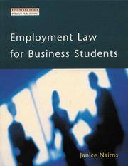 Employment Law for Business Students