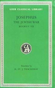 image of Josephus: The Jewish War, Books V-VII (Loeb Classical Library No. 210) (Bks.V-VII v. 4)