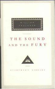 image of The Sound and the Fury (Everyman's Library Classics)