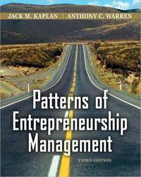 Patterns of Entrepreneurship Management (3rd Edition)