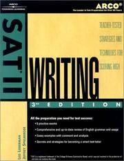 SAT II Writing 2002 (Sat II Writing, 3rd ed)