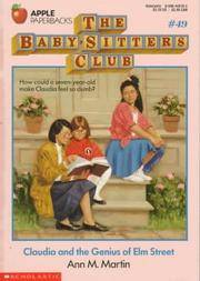 image of Claudia and the Genius of Elm Street (The Baby-Sitters Club #49)