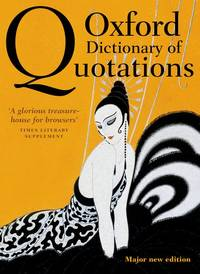 image of Oxford Dictionary of Quotations