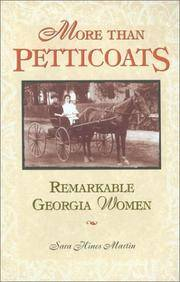 Remarkable Georgia Women by  Sara Hines Martin  - Paperback  - from Better World Books  (SKU: 14103501-6)