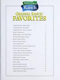 Original ranch favorites