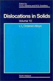 L12 Ordered Alloys, Volume 10