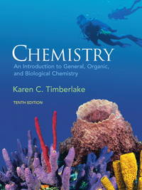 image of Chemistry: An Introduction to General, Organic, & Biological Chemistry (10th Edition)