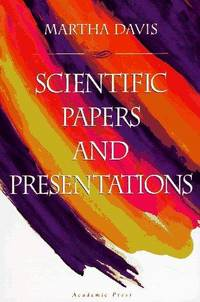 Scientific Papers and Presentations.