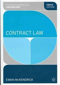image of Contract Law (Palgrave Law Masters)